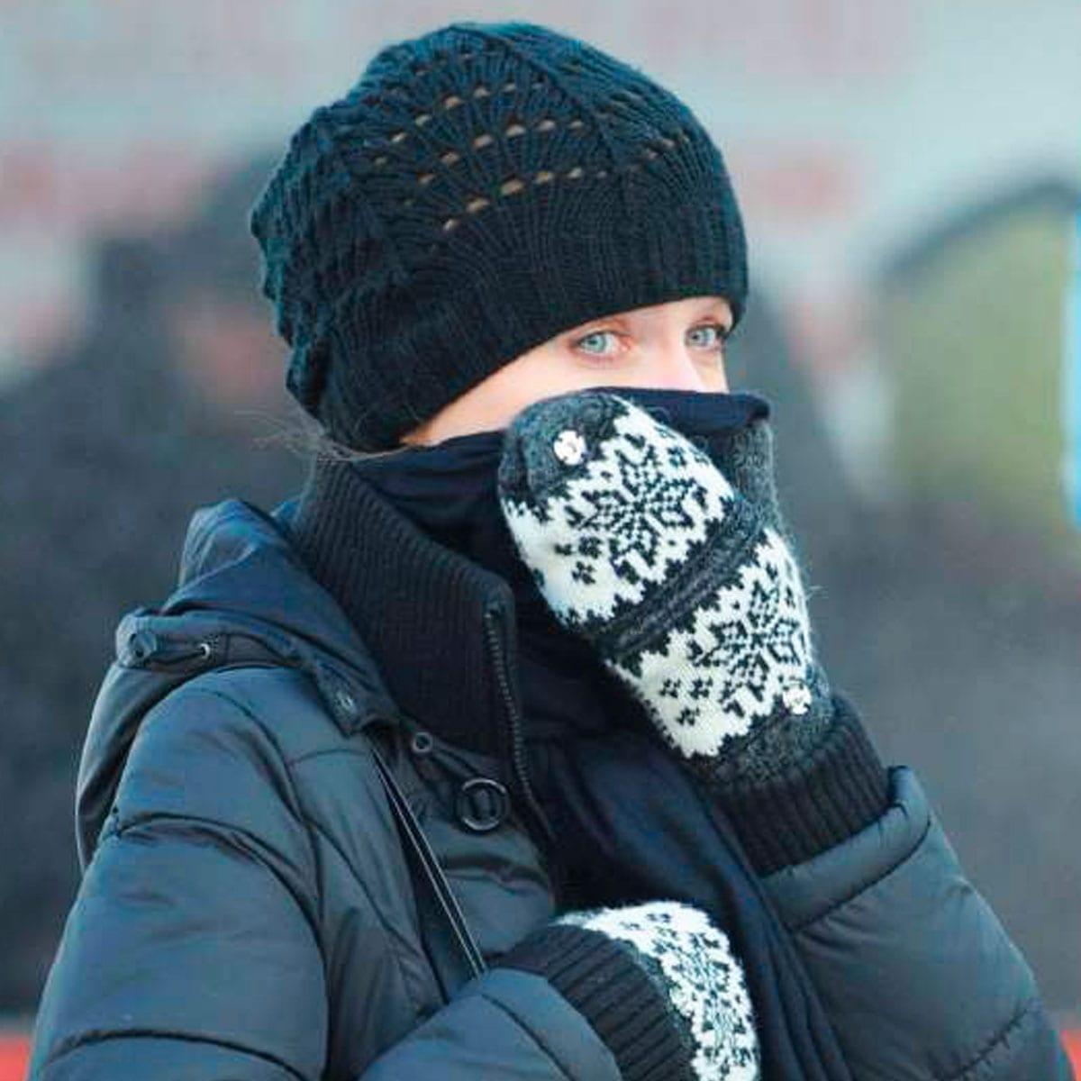 ¡Protege cabeza, manos y pies del frío!