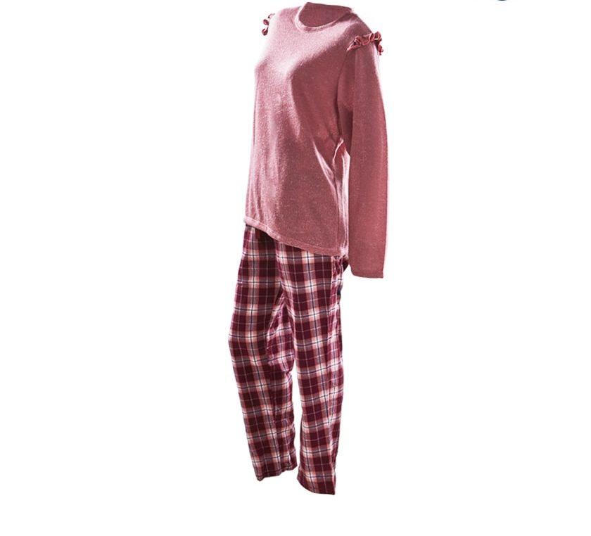Pijama-Montana-Vinotinto